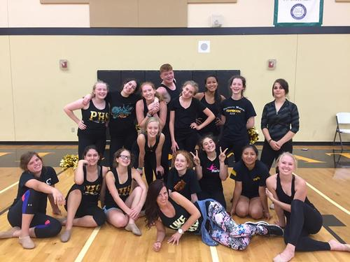 Girls Varsity Dance Team