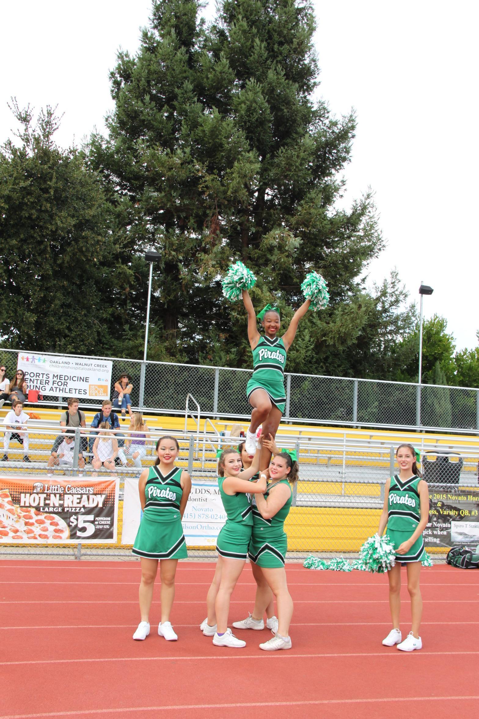 Sir Francis Drake High School CoEd Varsity Cheerleading Year