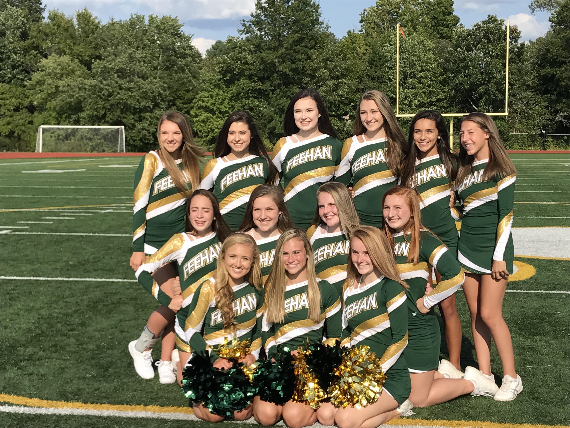 Bishop Feehan High School Girls Varsity Cheerleading