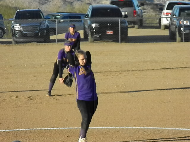 Girls Middle School Softball