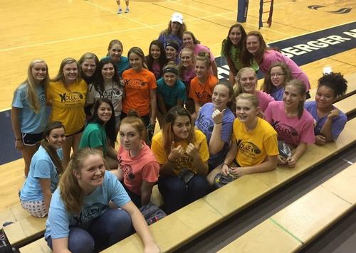 Kenowa Hills High School Girls Varsity Volleyball Fall 2017