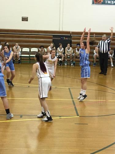 Auburn Middle School Girls Basketball Winter 2019 Photo