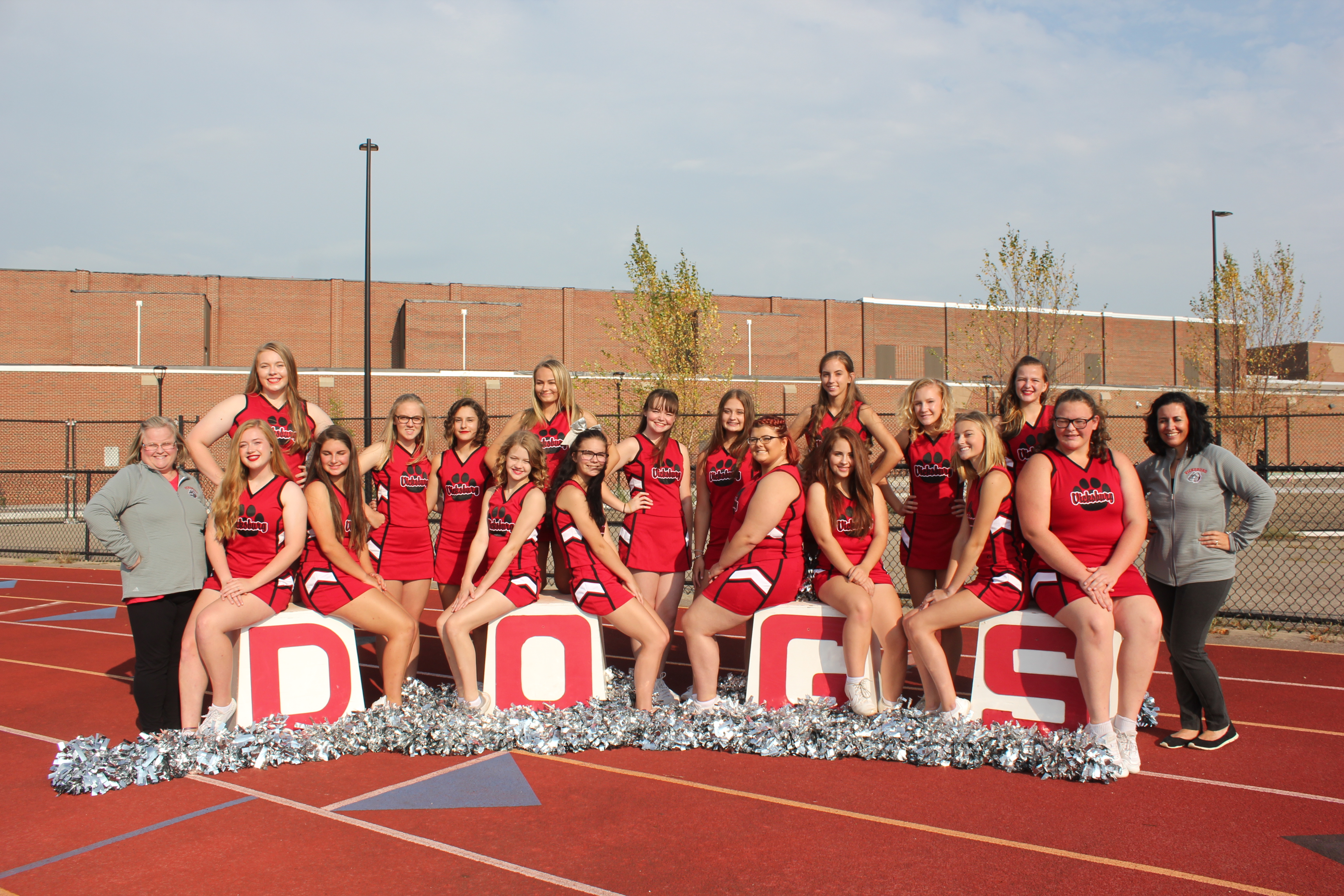 Girls Varsity Cheerleading