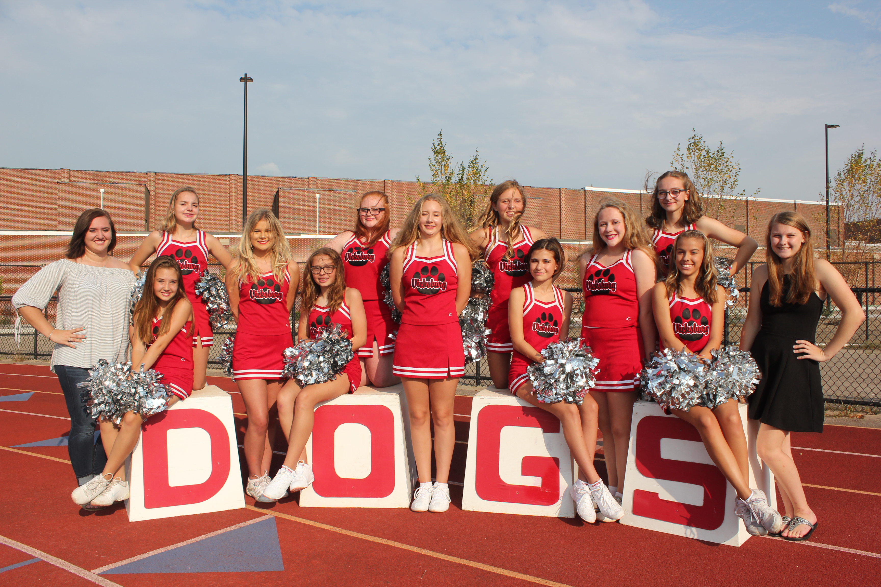 Girls Junior Varsity Cheerleading