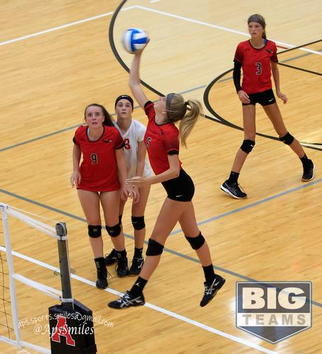 Allendale High School Girls Junior Varsity Volleyball Fall