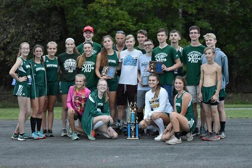 5th Annual Progressive Physical Therapy Invitational Championship! Girls and Boys both finished in 1st Place