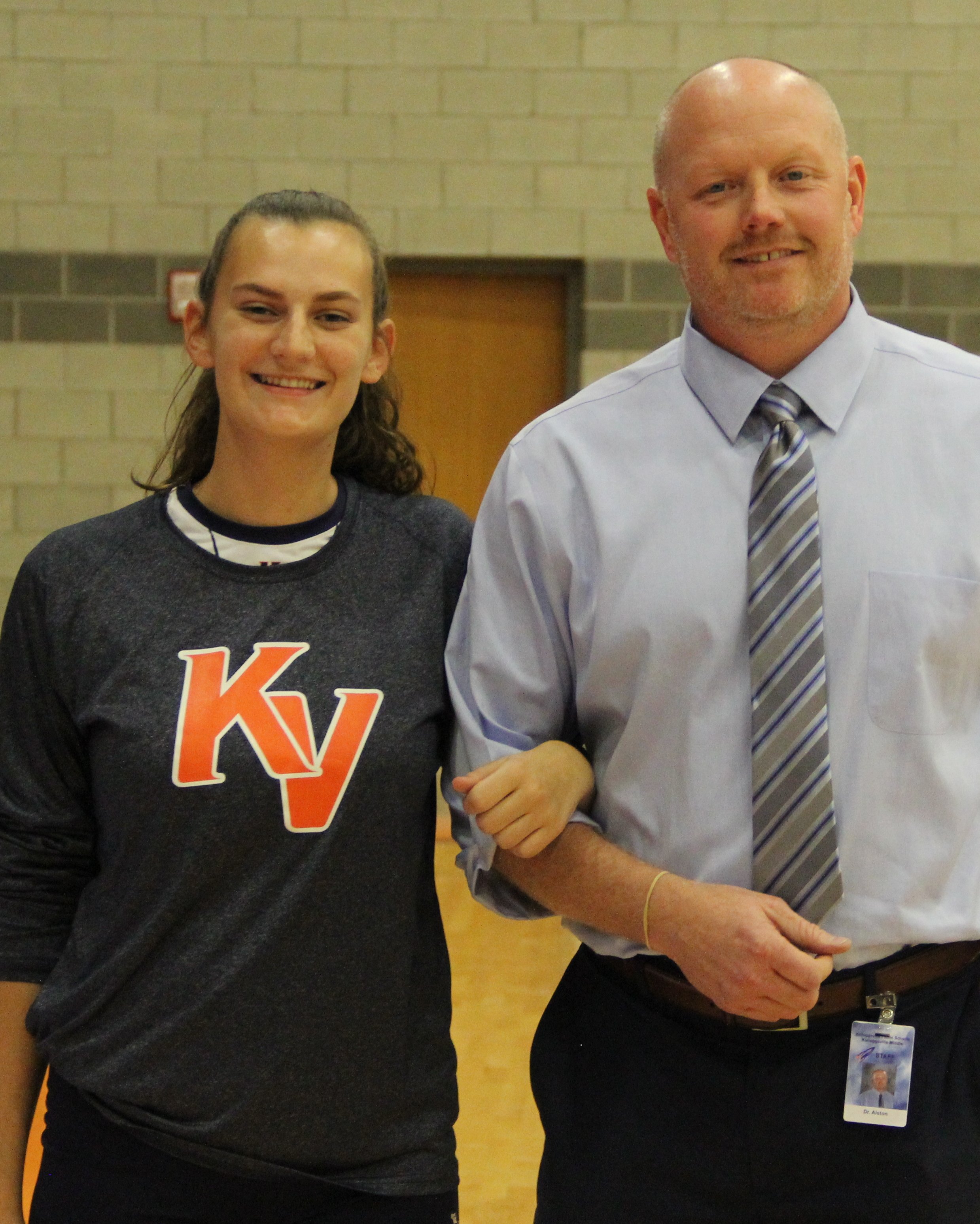 Kelloggsville High School Girls Varsity Volleyball Fall 2018