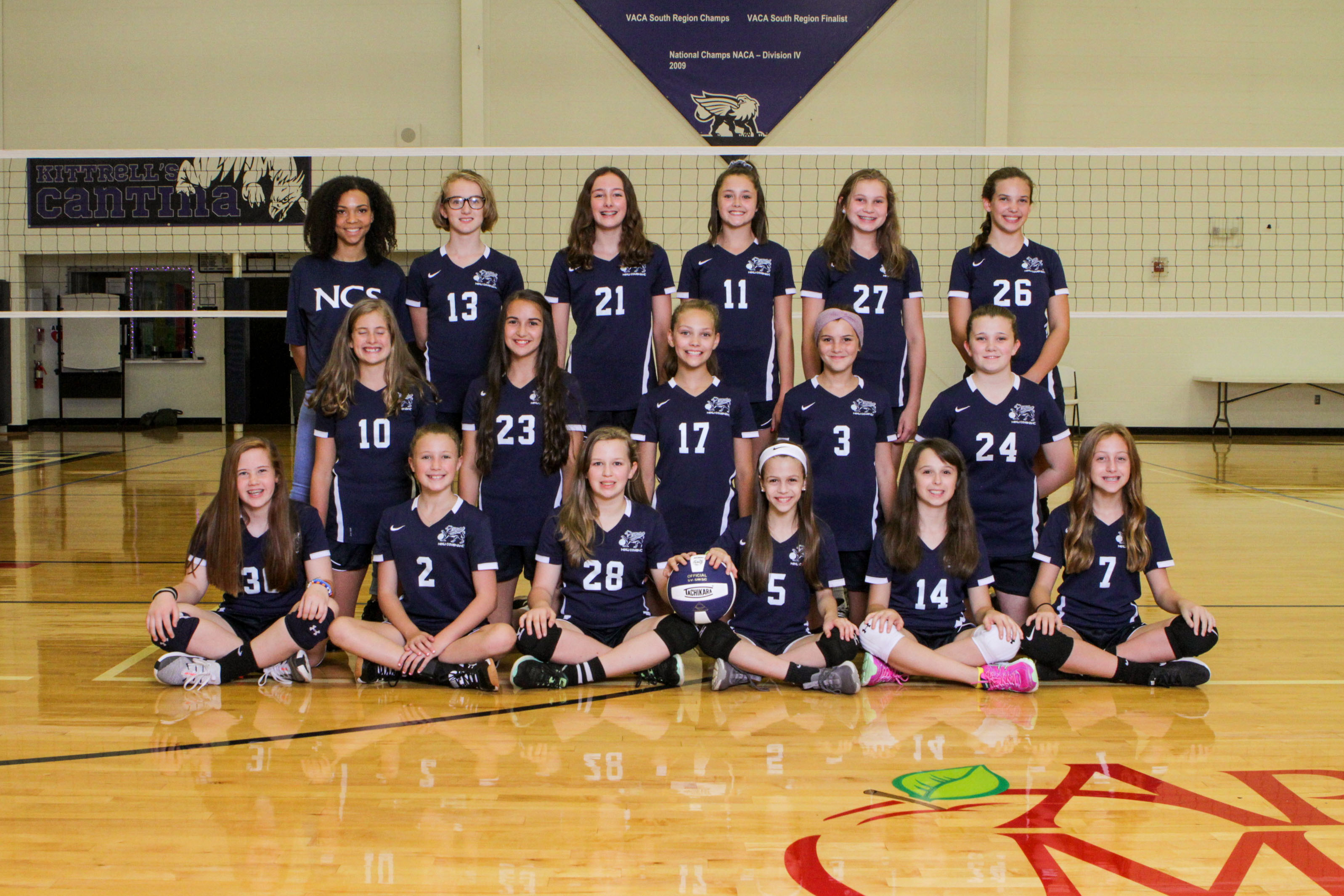 Girls Middle School 7/8 Volleyball