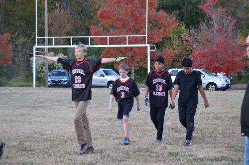 CoEd Middle School Ultimate Frisbee