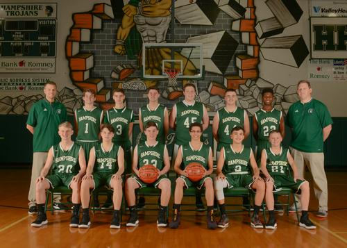 JV Boys' Basketball Team