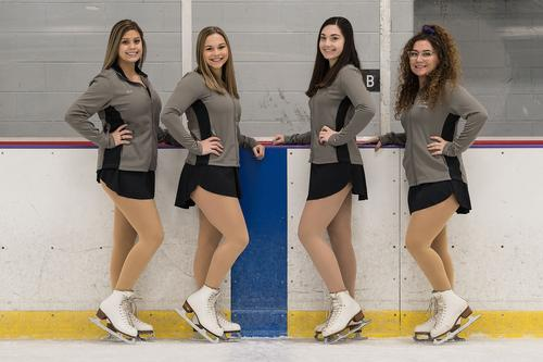 Girls Varsity Figure Skating