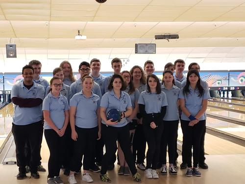 Warren Tech adds two new sports in 2018, girls' and boys' bowling led by Coach Gara and Coach Rieger.