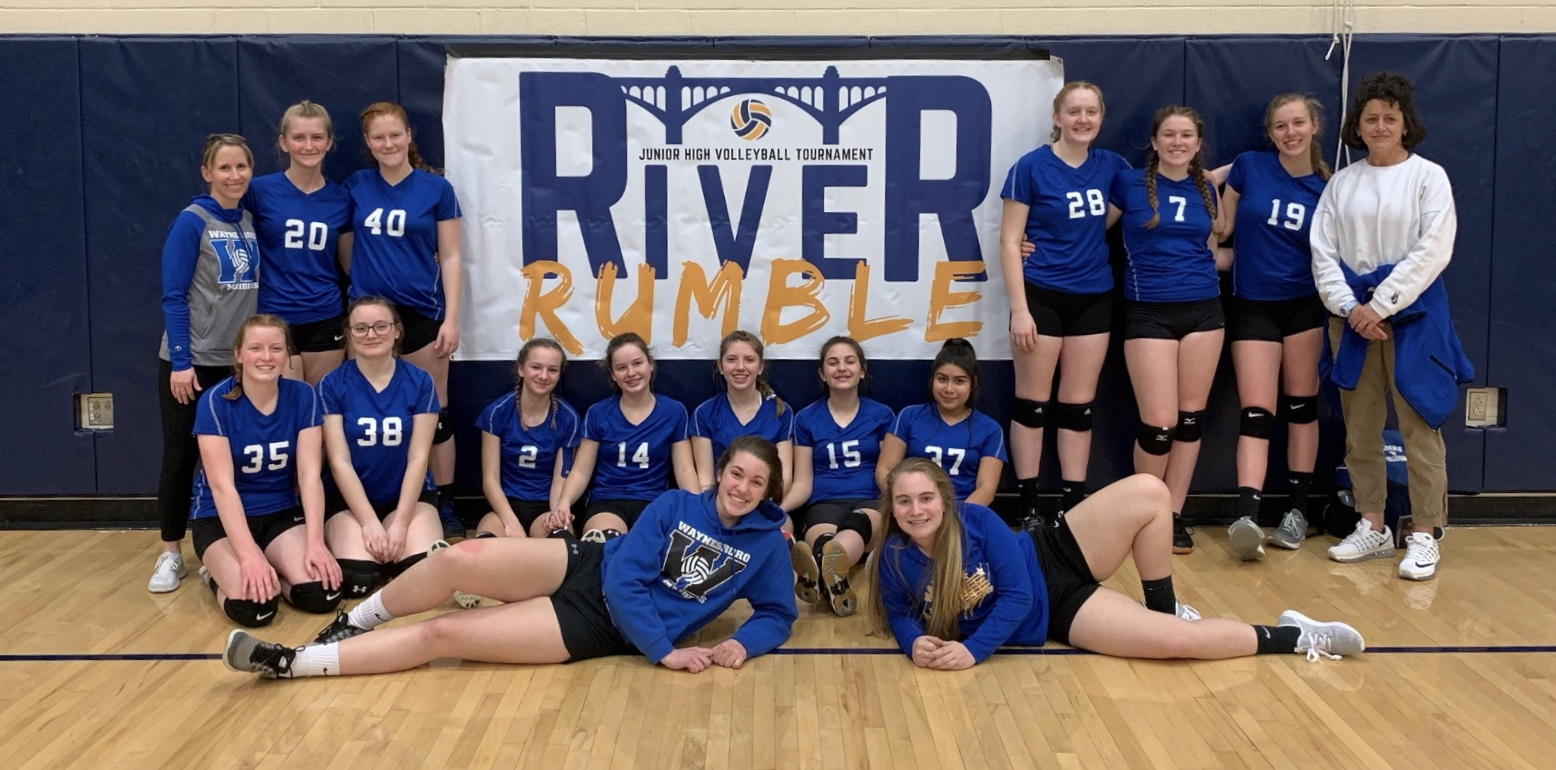 Girls Junior High Varsity Volleyball
