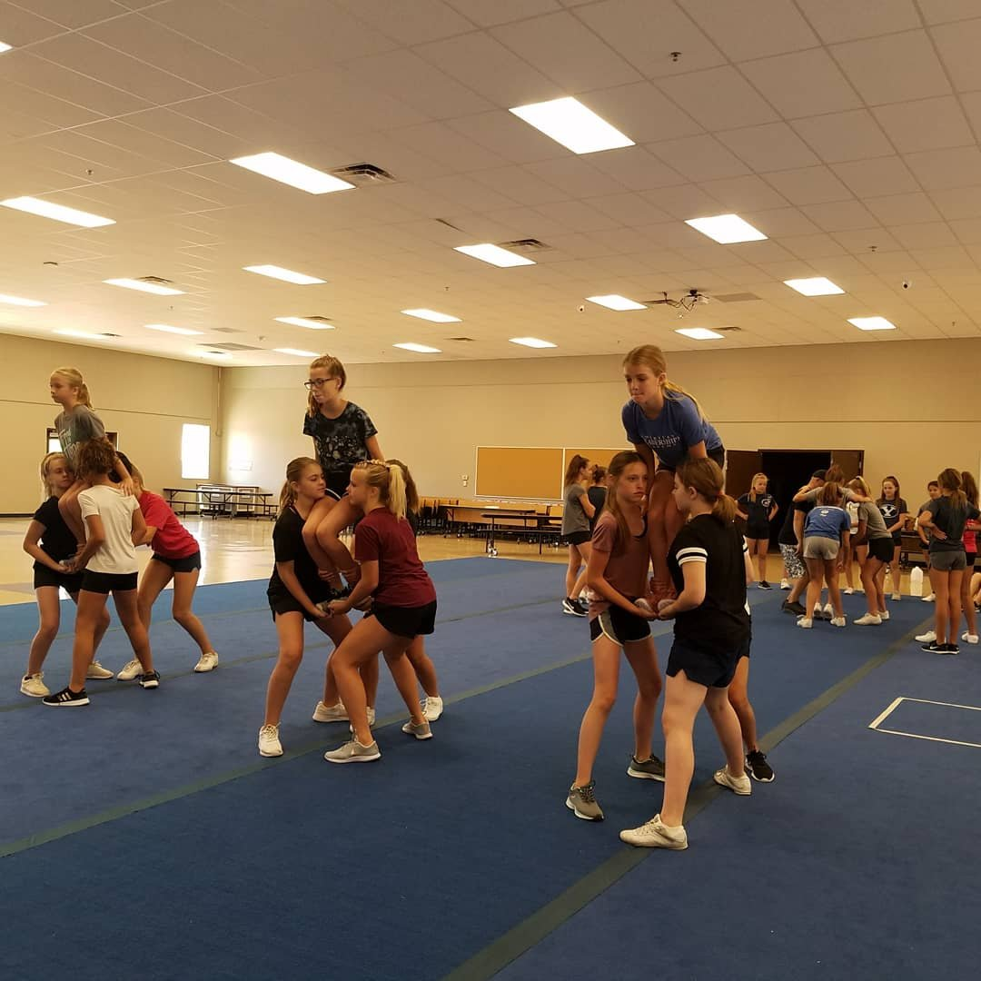 CoEd Junior High Cheerleading