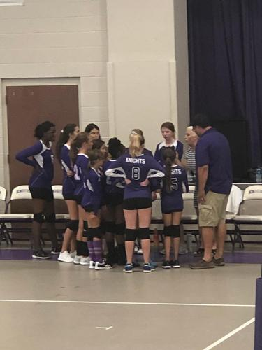 Girls Middle School Volleyball