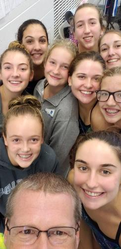 Girls Varsity Swimming