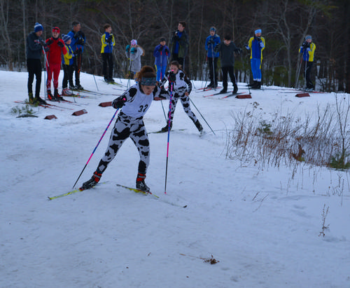 Girls Varsity XC Skiing