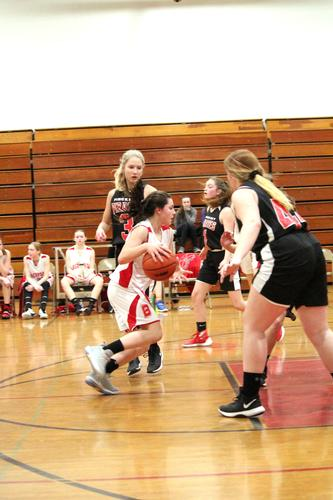 Girls 8th Red Basketball