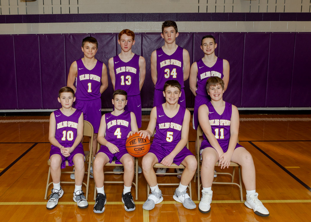 Boys Junior High Varsity Basketball