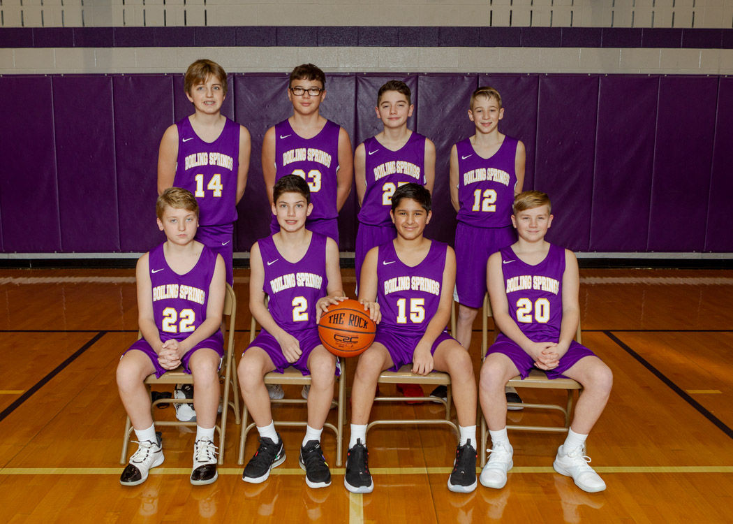 Boys Junior High JV Basketball